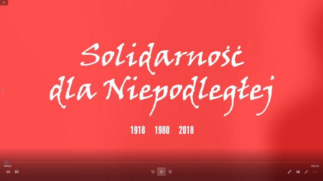 Solidarność dla Niepodległej – Zrobiliśmy coś ważnego