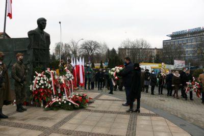 """Narodowy Dzień Pamięci """"Żołnierzy Wyklętych"""" – obchody w Rzeszowie 1.03.2021"""