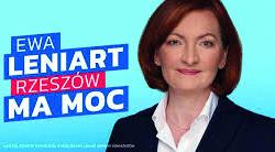 Ewa Leniart na Prezydenta Rzeszowa cz.1