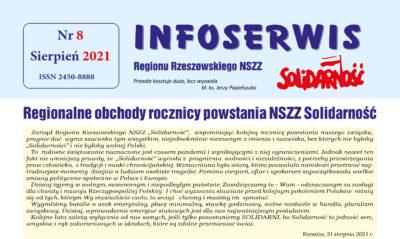 Infoserwis Nr 8, sierpień 2021 r.