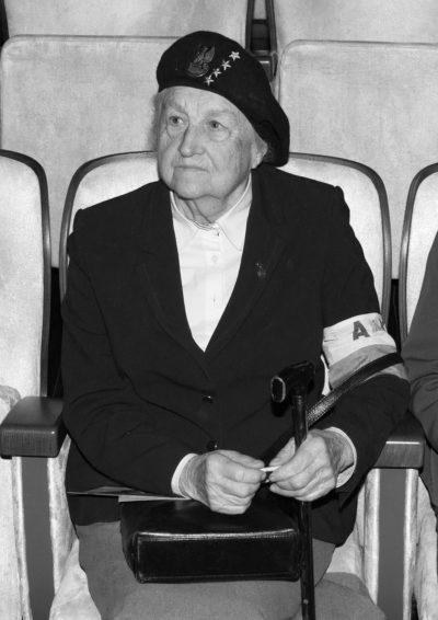 Odeszła na wieczną wartę mjr Janina Wierzbicka-Kopeć